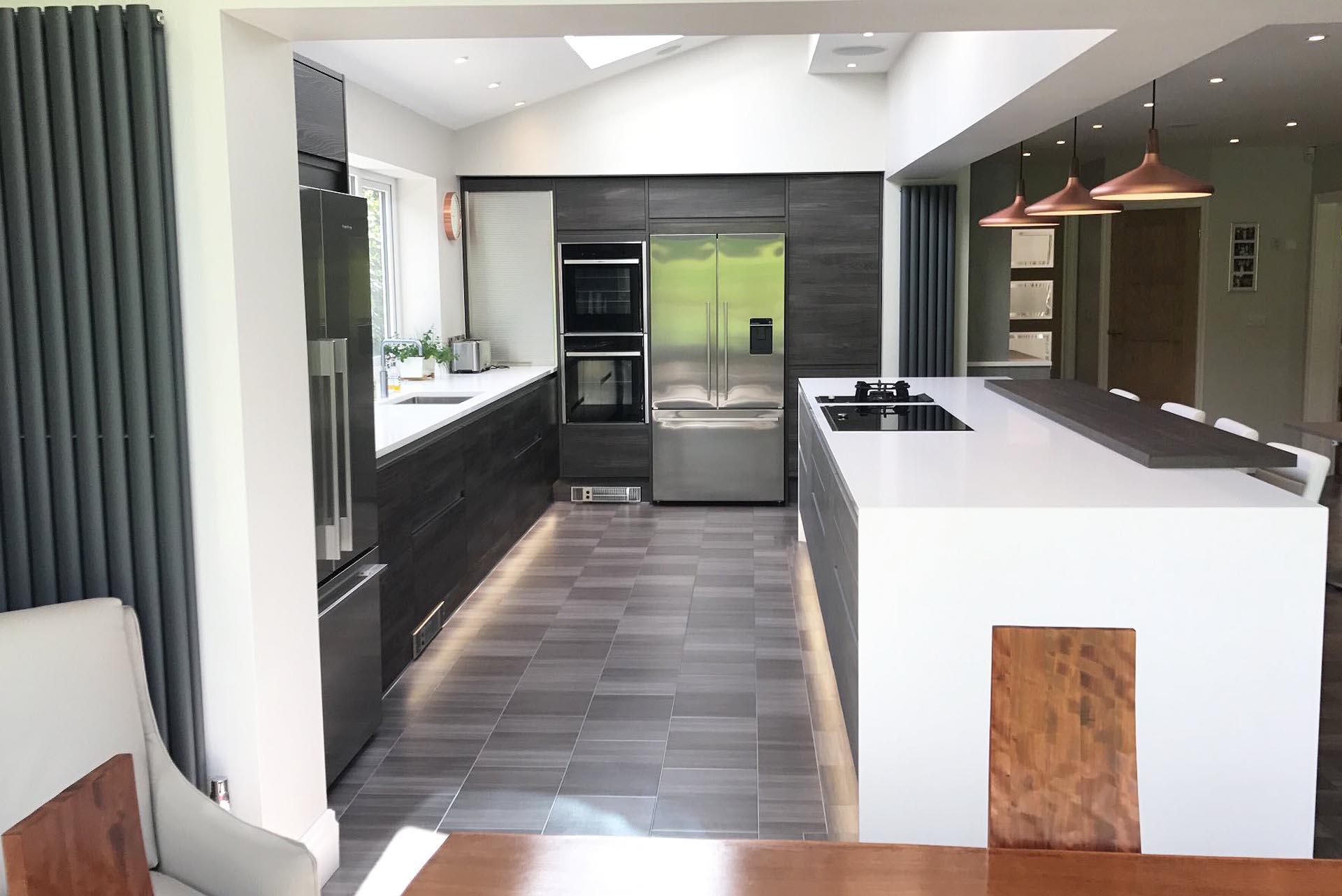 Burbidge Otto Concrete And Dark Elm Isala Kitchen